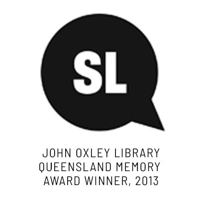 John Oxley Library Queensland Memory Award winner in 2013.